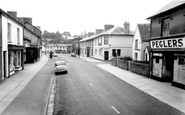 Newcastle Emlyn, Main Street c1955