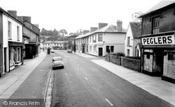 Newcastle Emlyn, Main Street c.1960