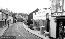 Newcastle Emlyn, Sycamore Street c.1960
