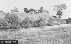 Newcastle Emlyn, Teify River And Castle c.1955
