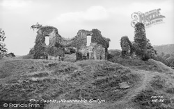 Newcastle Emlyn, The Castle c.1960