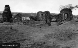 Newcastle Emlyn, The Castle Ruins 1961