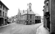 Newcastle Emlyn, the Clock Tower c1955
