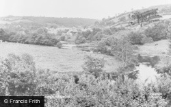 Newcastle Emlyn, The River c.1960