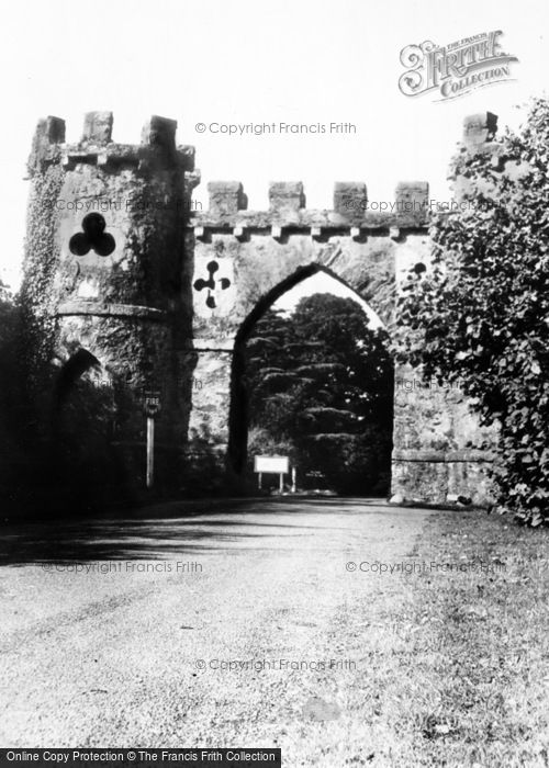 Photo of Newcastle, Tollymore Park, Barbican Gate c.1960