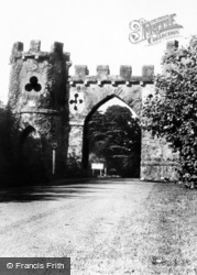 Newcastle, Tollymore Park, Barbican Gate c.1960