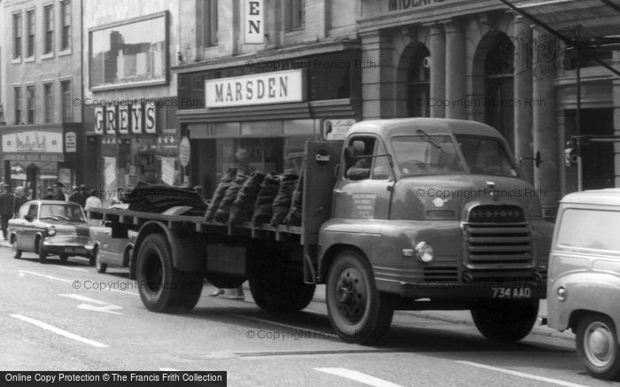 Newcastle, Coal Lorry c1965