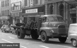 Newcastle Under Lyme, Coal Lorry c.1965