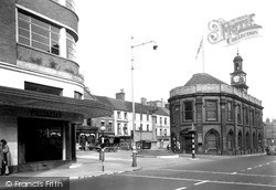 Newcastle Under Lyme, Guild Hall c.1940