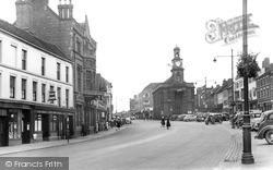 Newcastle Under Lyme, High Street 1951