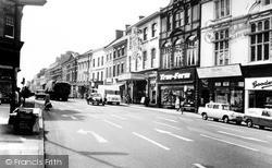 Newcastle Under Lyme, High Street 1965