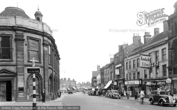 Newcastle, High Street c1951