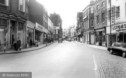 Newcastle Under Lyme, High Street c.1965