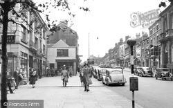Newcastle Under Lyme, Ironmarket 1951