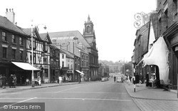 Newcastle Under Lyme, Ironmarket c.1940