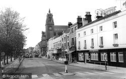 Newcastle Under Lyme, Ironmarket c.1963
