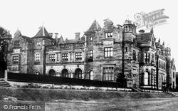 Newcastle Under Lyme, Keele University c.1900