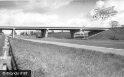 Newcastle Under Lyme, M6 Motorway c.1965