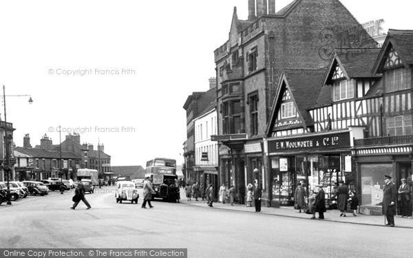 Newcastle, Penkhull Street c1950