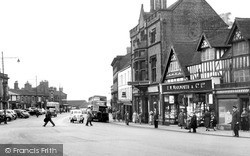 Newcastle Under Lyme, Penkhull Street c.1950