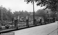Newcastle Under Lyme, Queens Gardens c.1950