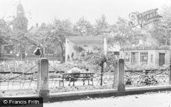 Newcastle Under Lyme, The Gardens c.1950