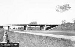 Newcastle Under Lyme, The M6 Motorway c.1965