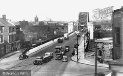 Newcastle Upon Tyne, Approach To Tyne Bridge c.1955