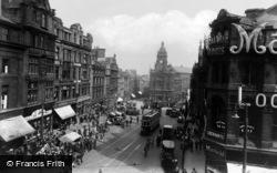 Newcastle Upon Tyne, Bigg Market c.1935