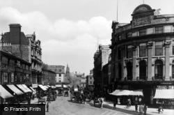 Newcastle Upon Tyne, Blacket Street c.1900