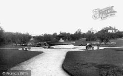 Newcastle Upon Tyne, Brandling Park 1888