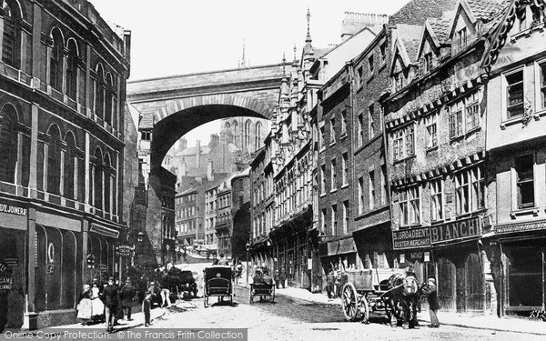 Photo of Newcastle Upon Tyne, c1890, ref. N16303