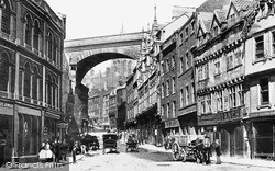 Newcastle Upon Tyne, c.1898