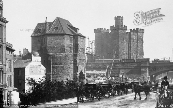 Photo of Newcastle Upon Tyne, Castle 1901, ref. N16322