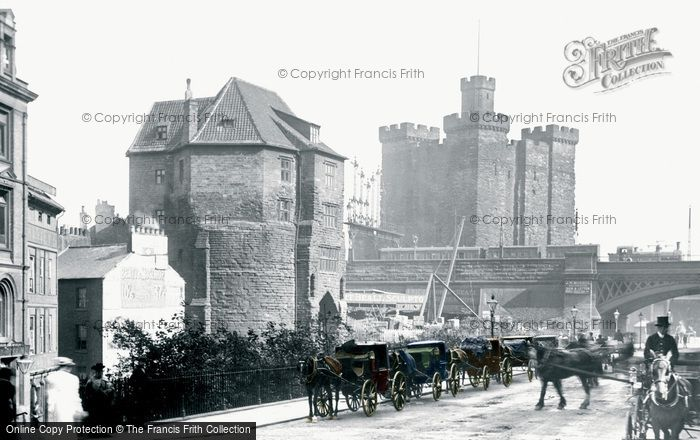 Photo of Newcastle Upon Tyne, Castle 1901, ref. N16322p