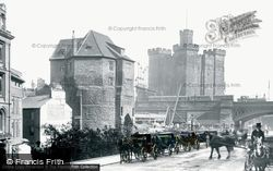 Newcastle Upon Tyne, Castle 1901