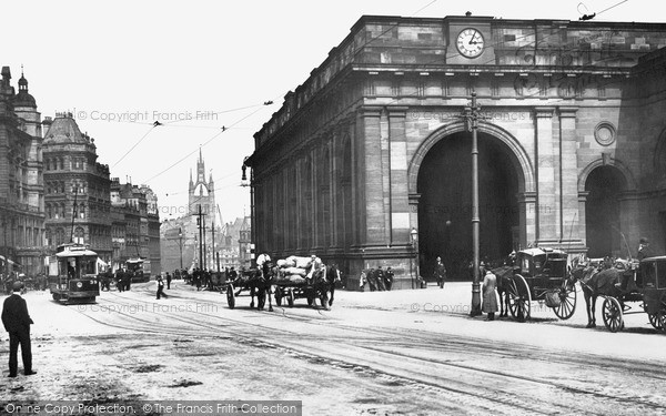 Photo of Newcastle Upon Tyne, Central Station 1900, ref. n16313
