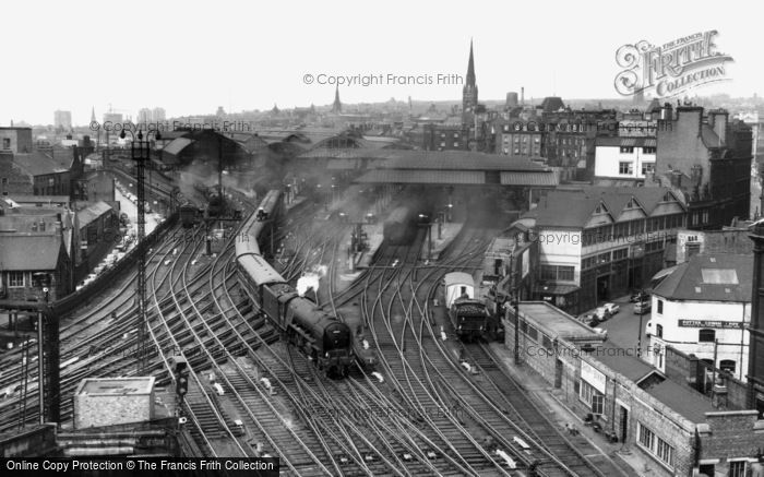 Photo of Newcastle Upon Tyne, Newcastle Central Station c1960, ref. N16060
