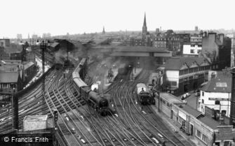 Newcastle upon Tyne, Central Station c1960