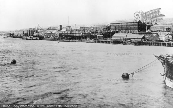 Photo of Newcastle Upon Tyne, Elswick Works c1898, ref. N16301