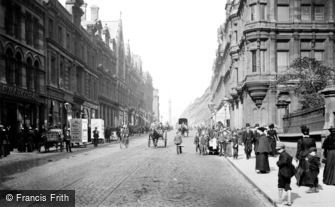 Newcastle upon Tyne, Grainger Street 1900