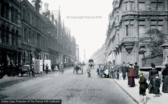 Photo of Newcastle Upon Tyne, Grainger Street 1900, ref. N16314p