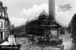 Newcastle Upon Tyne, Grey Street c.1900