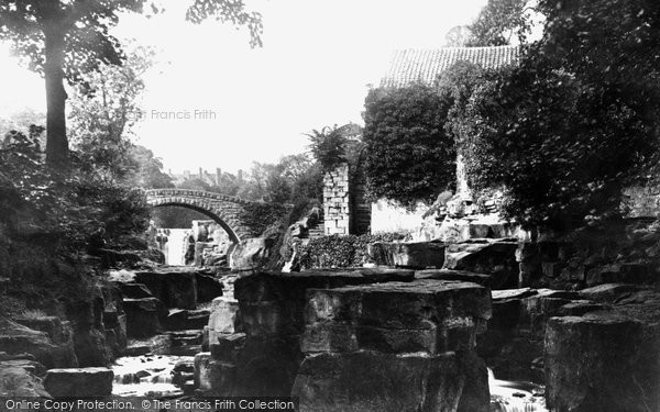 Photo of Newcastle Upon Tyne, the Mill and Bridge 1888, ref. 21044