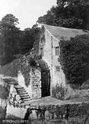 Newcastle Upon Tyne, Jesmond Dene, The Water Mill c.1887