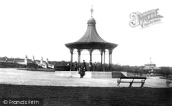 Newcastle Upon Tyne, Leazes Park And Bandstand 1888