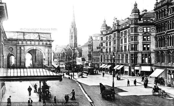 Photo of Newcastle Upon Tyne, Neville Street c1901, ref. N16302