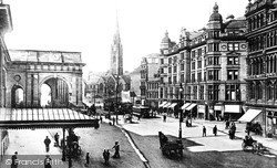 Newcastle Upon Tyne, Neville Street c.1901