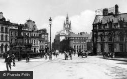 Newcastle Upon Tyne, Neville Street c.1910