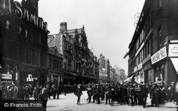 Newcastle Upon Tyne, Newgate Street c.1911